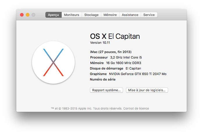OS X 10 11 Golden Master (15A282a) - Forums MacBidouille